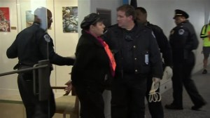 Keystone XL pipeline protesters arrested in Capitol Hill