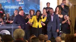 Jesse Jackson shows support for Kim Foxx at rally in Chicago