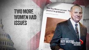 Six women accuse Roy Moore of sexual misconduct