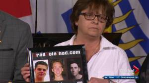 Alberta mother Sheri Arsenault, who lost son to a drunk driver, renews calls for changes to Criminal Code