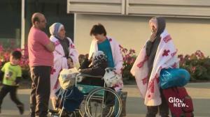 Fort McMurray evacuees arrive in Edmonton