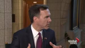 Finance Minister Bill Morneau calls budget spending 'bold'