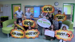 Eco-friendly Taber school received $20K Staples grant