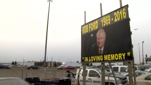 Canadians mourn death of former Toronto Mayor Rob Ford