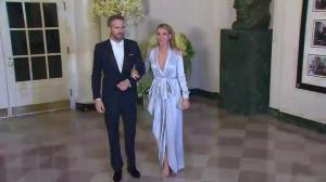 White House state dinner: Ryan Reynolds with Blake Lively arrival