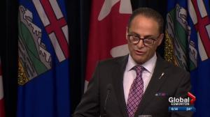 Alberta government provides update on province's fiscal situation