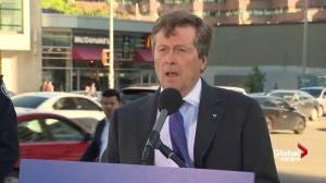 Mayor Tory reveals intersections where Traffic Assistance Personnel to be deployed