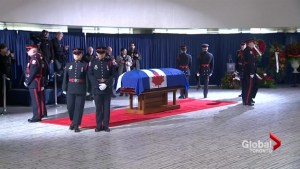 Rob Ford lies in repose at City Hall