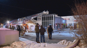 Overnight fire at Blainville pet store