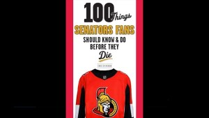 "Chris Stevenson on his new book ""!00 Things Senators Fans should know before they Die"""