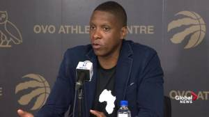 Masai Ujiri on re-signing Kawhi Leonard: I always feel confident