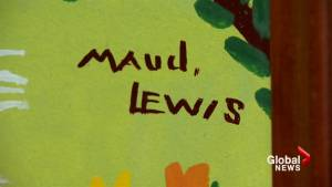 Maud Lewis exhibition no longer to be shown in China (01:38)