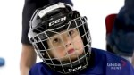 Ontario kid goes viral after getting mic'd up during hockey practice