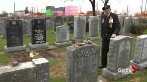 Graves of Jewish war veterans being flooded by condo development, says caretaker