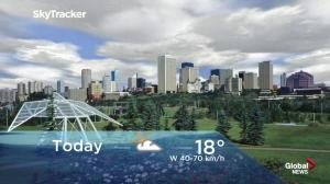 Edmonton early morning weather forecast: Tuesday, June 12, 2018