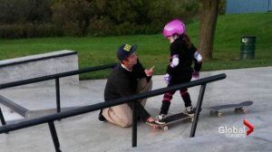Mom's letter thanking Ontario man for showing 6-year-old how to skateboard goes viral