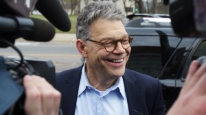 Al Franken apologizes after radio host accuses him of sexual misconduct