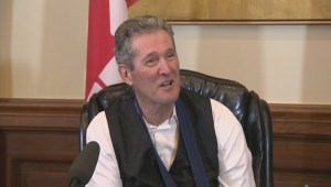 Manitoba Premier Brian Pallister talked about the ups and downs of 2017