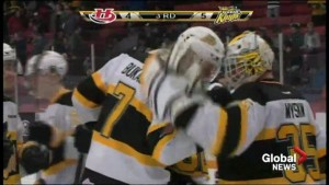 Hurricanes fall 5-4 in Brandon but Wheat Kings still trail series 2-1
