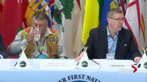 Canada's premiers meet with Indigenous leaders to talk child and family services