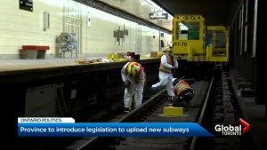 Province set to unveil Toronto subway upload legislation
