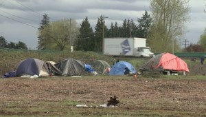 City of Richmond struggling to cope with growing tent city