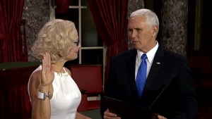 Kyrsten Sinema sworn in to Congress using copy of Constitution instead of religious book