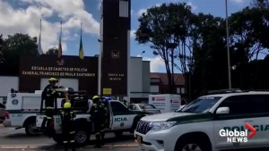 Car bomb in Colombian police academy kills multiple people