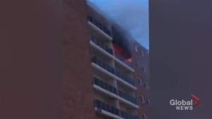 Early morning fire in apartment near Grant Park Mall in Winnipeg