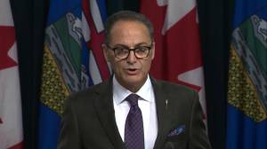Alberta on track to balance budget by 2023/24: finance minister (00:47)