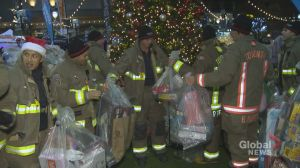 2018 Toronto Fire Fighters' Toy Drive kicks off