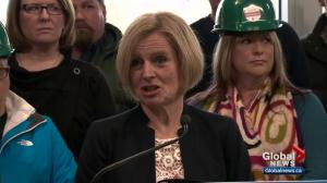Rachel Notley takes her Alberta election campaign to northern Alberta