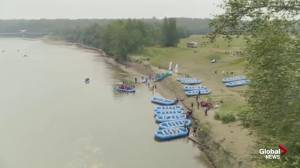 EPCOR RiverFest launching rafts in Devon, Edmonton this year