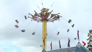 Crews take care of last minute details before Saskatoon Ex kicks off