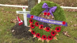 Time to remember for students in Mallorytown