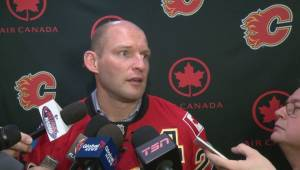 Robyn Regehr happy to retire as a Calgary Flame