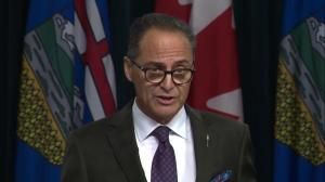Alberta finance minister stresses importance of Trans Mountain and other pipelines