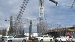 Kelowna developer adds second crane to highrise construction site