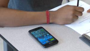 Classroom cellphone ban (02:56)