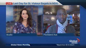 Last Day for St. Viateur Bagels in NDG