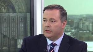 Jason Kenney urges Ottawa to take B.C. to court over