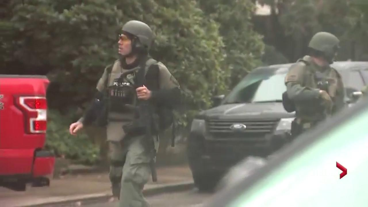 Four dead as gunman attacks US Synagogue