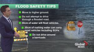 Okanagan flooding potential with heavy rain and rapid snow melt