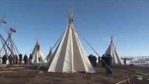 Authorities prepare to shut down Dakota Access Pipeline protest camp