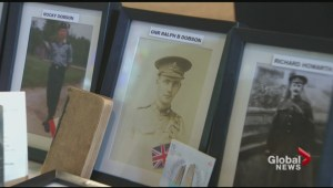 Moncton senior collecting war memorabilia in honour of her father
