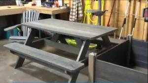 Nova Scotia company turns plastic bags into patio furniture