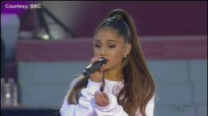 Ariana Grande changes One Love Manchester set for victim who died in attack