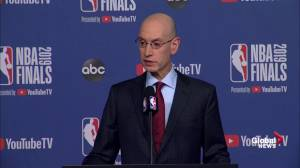 NBA commissioner says he's not concerned about US-China trade war