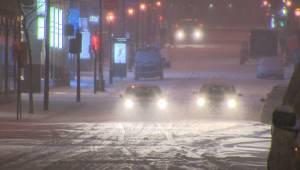 Flurries, freezing rain in Montreal