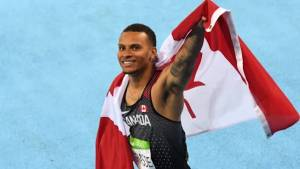 Andre De Grasse ready to 'take on the world' after coaching change